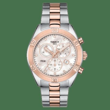 Orologio Tissot PR 100 sport chic chronograph