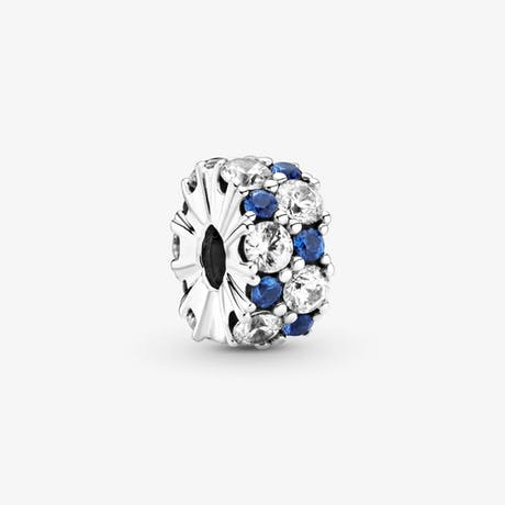 Clip Eleganza luccicante blu
