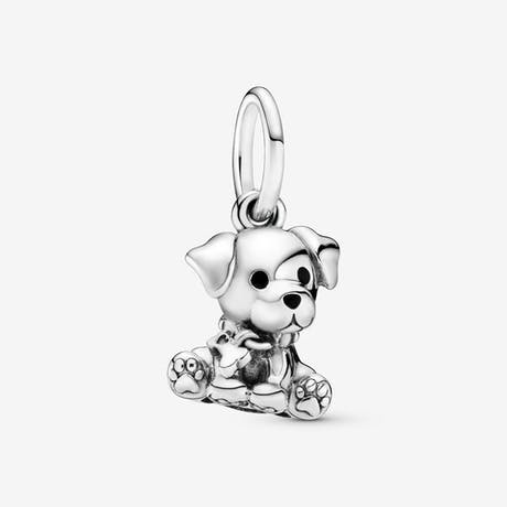 Charm pendente cucciolo Labrador