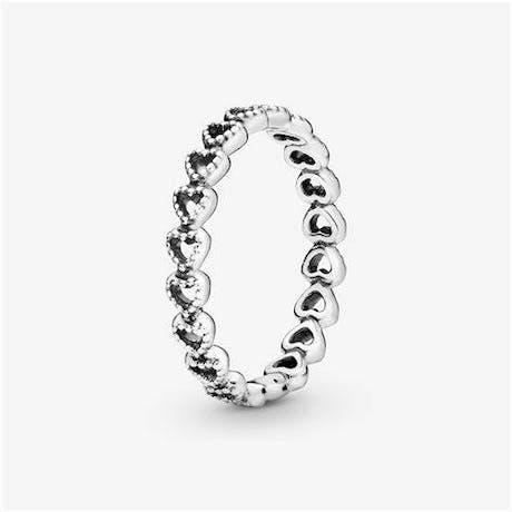 Anello Pandora Unione di Cuori