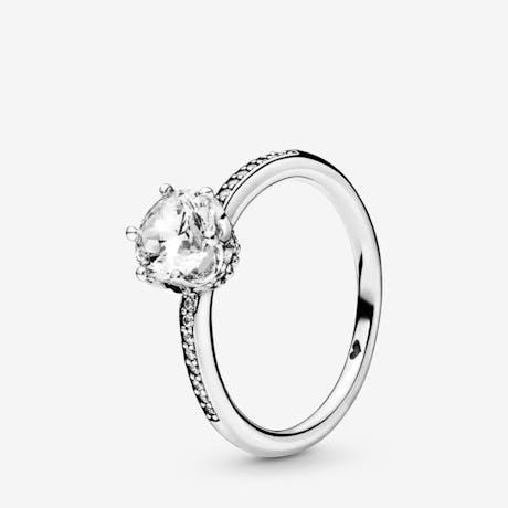 Anello Pandora Corona scintillante
