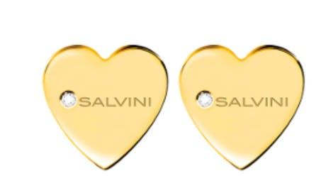 Orecchini Salvini I segni 9kt cuore oro giallo
