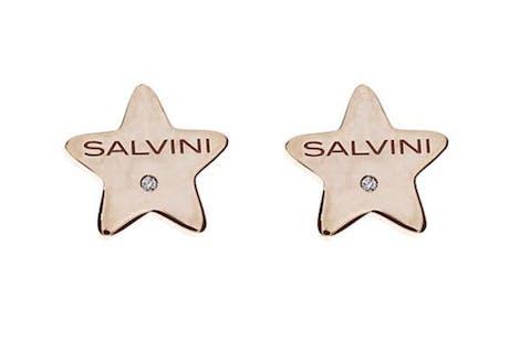 Orecchini Salvini I segni 9kt stella oro rosa