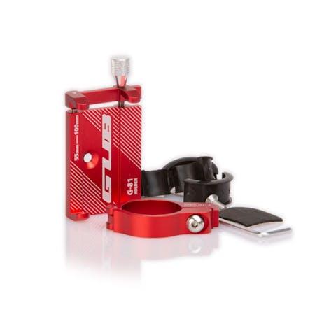 Porta Telefono Cellulare e Smartphone in metallo Rosso