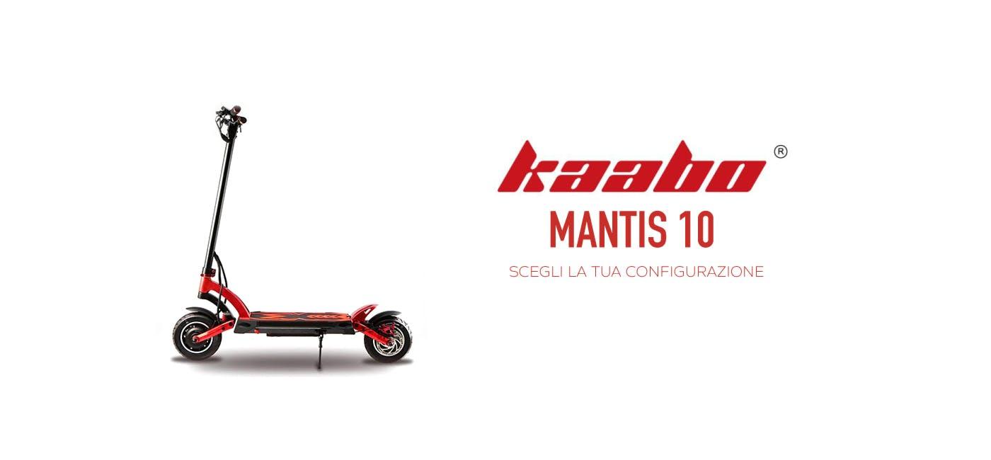 Sezione dedicata a Kaabo Mantis, accessori e pezzi di ricambio