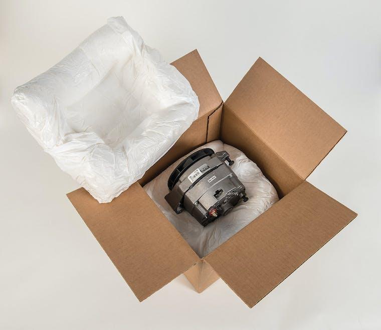 INSTAPAK®-SIMPLE - sistema per la generazione di cuscinetti di schiuma poliuretanica su misura