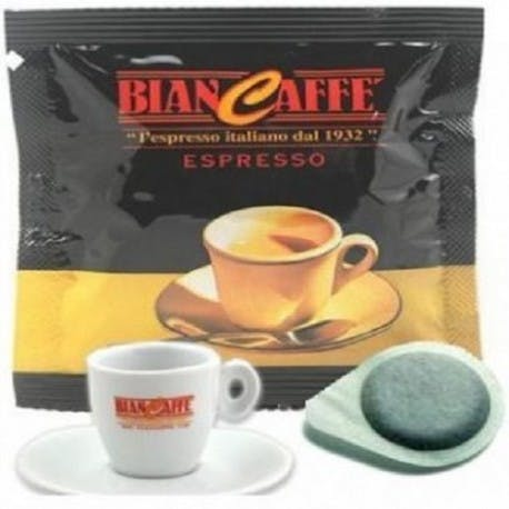 150 CIALDE IN CARTA FILTRO CAFFE' BIANCAFFE' ESE (44 mm)