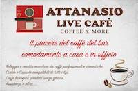 ATTANASIO LIVE CAFE' logo