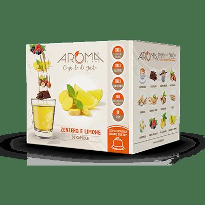 30 Capsule Zenzero e Limone  compatibili Dolce Gusto