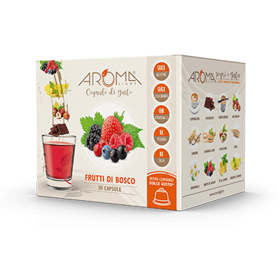 30 Capsule di Frutti di Bosco  compatibili Dolce Gusto