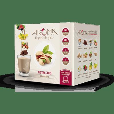 30 Capsule di Pistacchio compatibili Nespresso