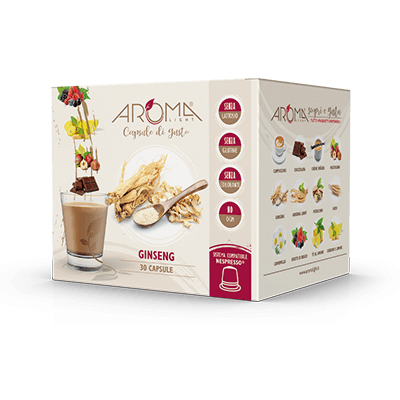 30 Capsule di Caffè Ginseng compatibili Nespresso