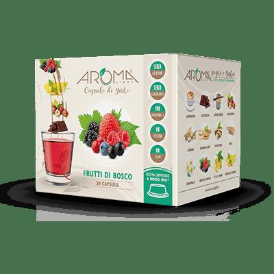 30 Capsule di Frutti di Bosco compatibili Lavazza A Modo Mio