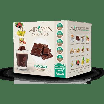 30 Capsule di Cioccolata Compatibili Lavazza A Modo Mio