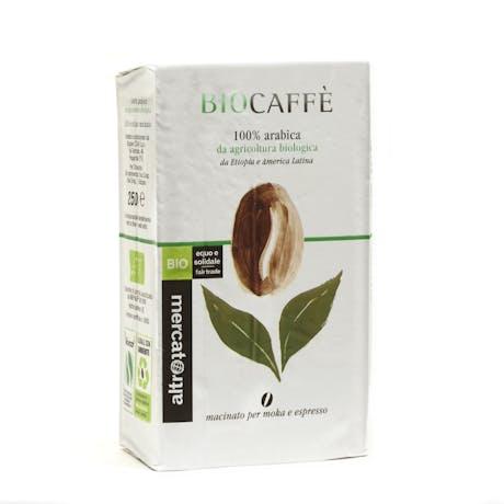 Miscela caffè Biocaffè 250g moka e espresso