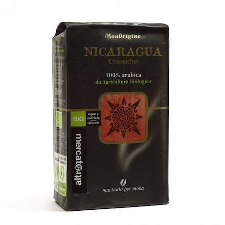 Miscela caffè monorigine Nicaragua 250g biologico moka