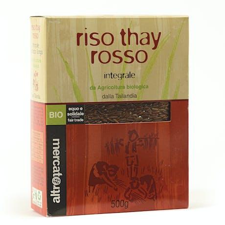 Riso integrale Thay rosso Tailandia bio 500 gr