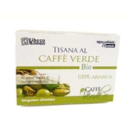 Tisana al caffè verde 20 filtri bio