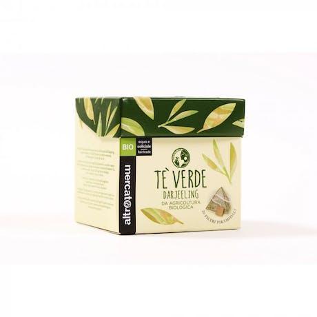 Tè Verde Darjeeling biologico 20 filtri 40g