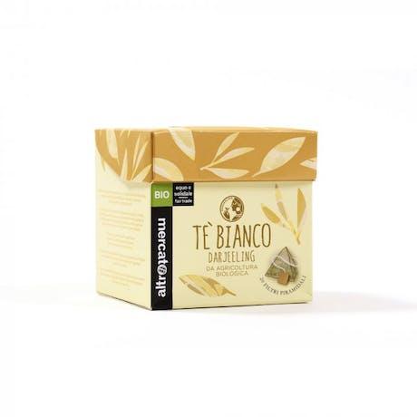 Tè Bianco Darjeeling biologico 20 filtri 40g