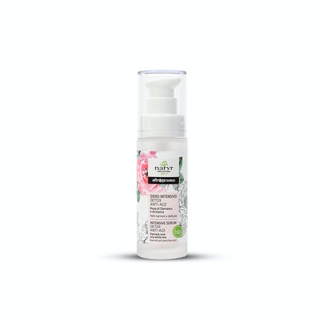 Siero intensivo detox anti età rosa di damasco Bio 30ml