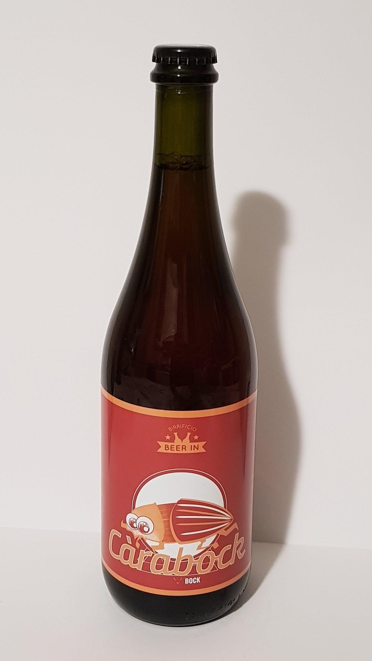 Beer in Carabock 75cl alc.6% vol.