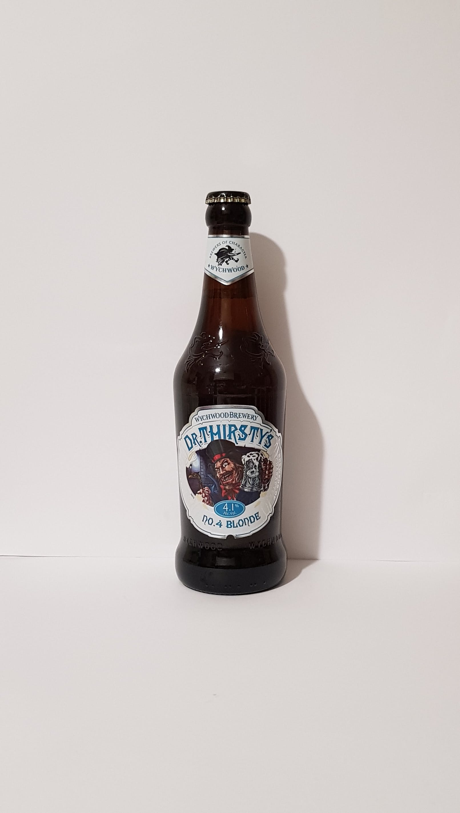 Wychwood Dr.Thirsty's 50cl alc. 4,1% vol.