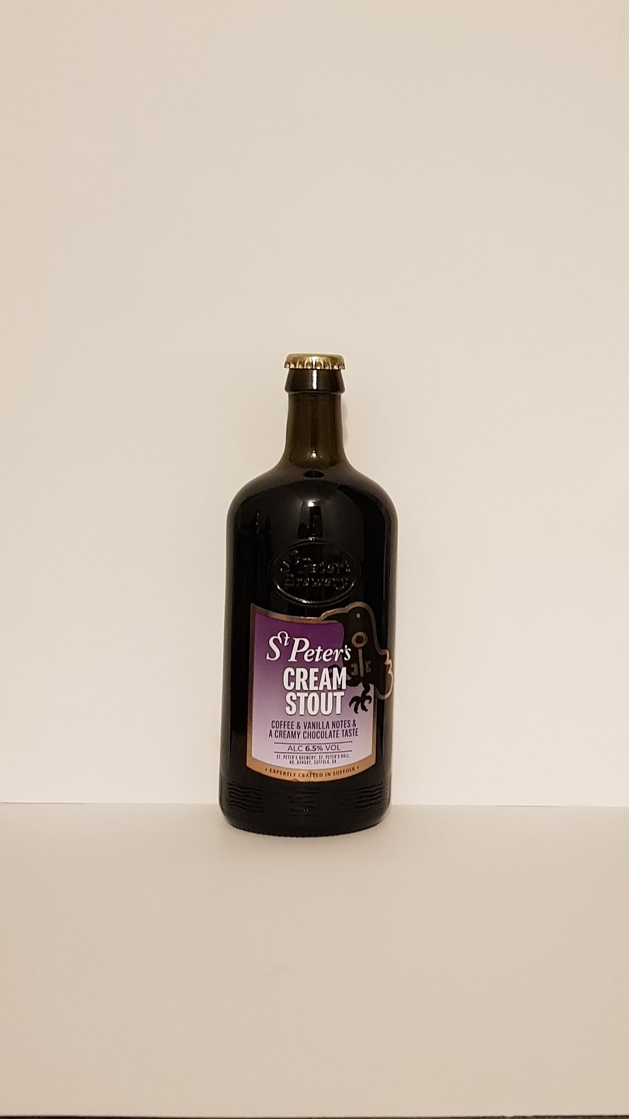 ST PETER'S CREAM STOUT 50CL ALC. 6,5% VOL.