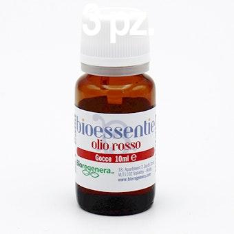 Kit 3 pz ROSSO Bioessentia del calore e della condivisione