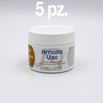 Kit 5 pz ARMONIA VISO CREMA  50 ml