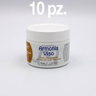 Kit 10 pz. ARMONIA VISO CREMA 50 ml