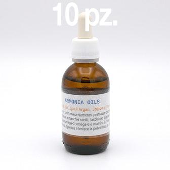 Kit 10 pz. ARMONIA OILS VISO 50 ml