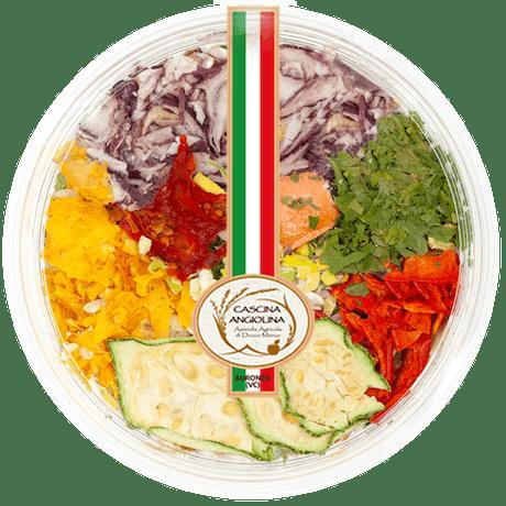 Mix 4 risotti pronti - Calendula, Carciofi, Erbette e Ortolana