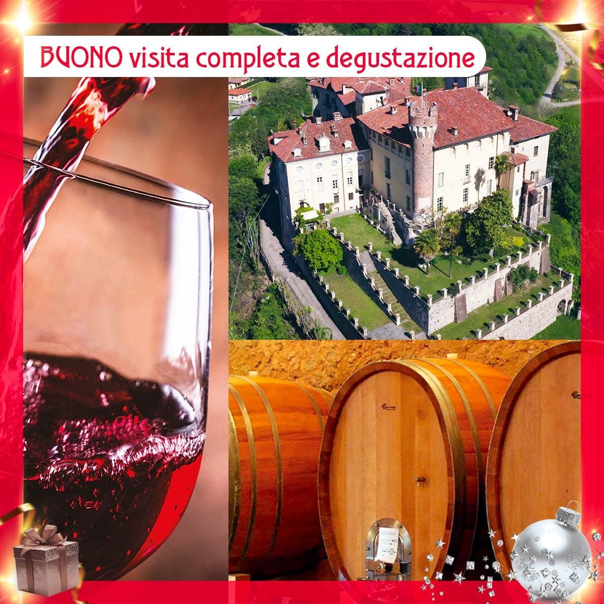 Visita al Castello e alle cantine con degustazione vini