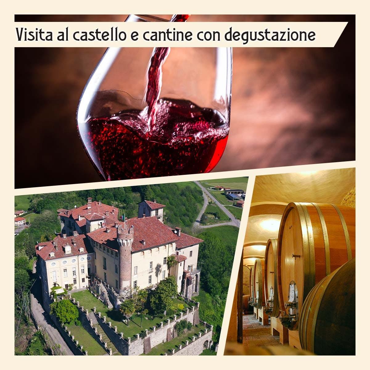 Visita al Castello e cantine con degustazione vini