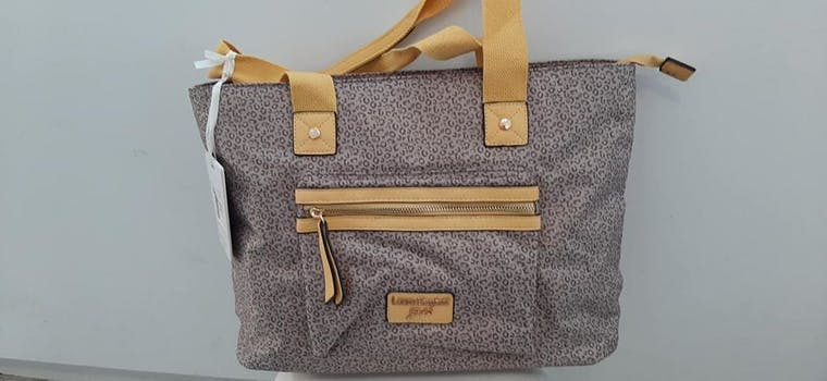 BORSA SHOPPING LAURA BIAGIOTTI GOLD