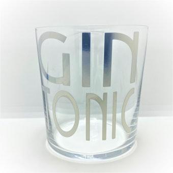 Bicchiere in vetro da tavola