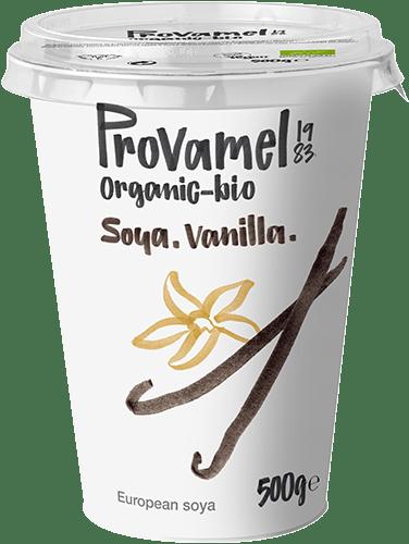 PROVAMEL ALTERNATIVA VEGETALE ALLO YOGURT (SOIA) VANILLA. 400G