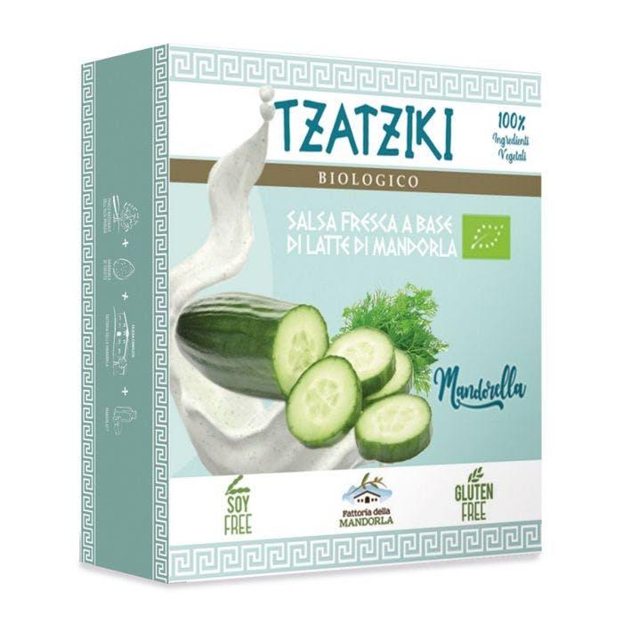 MANDORELLA TZATZIKI - Salsa fresca base latte di mandorla 180g