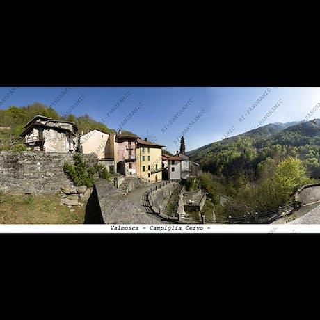 Valmosca - Campiglia Cervo  cm.19,7 x 9