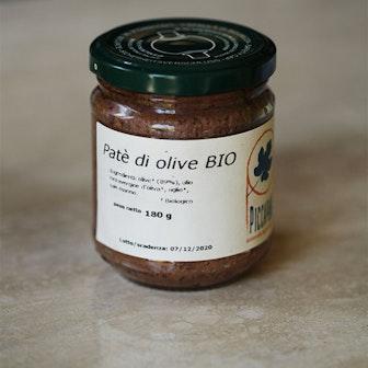 Patè piccante di Olive Leccino 180g