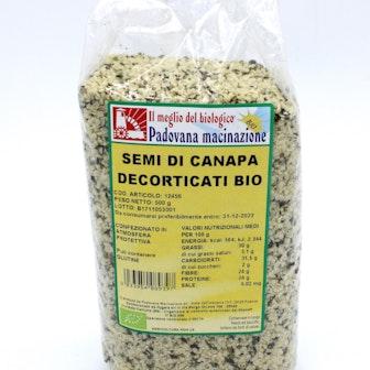 Semi di canapa decorticati Bio