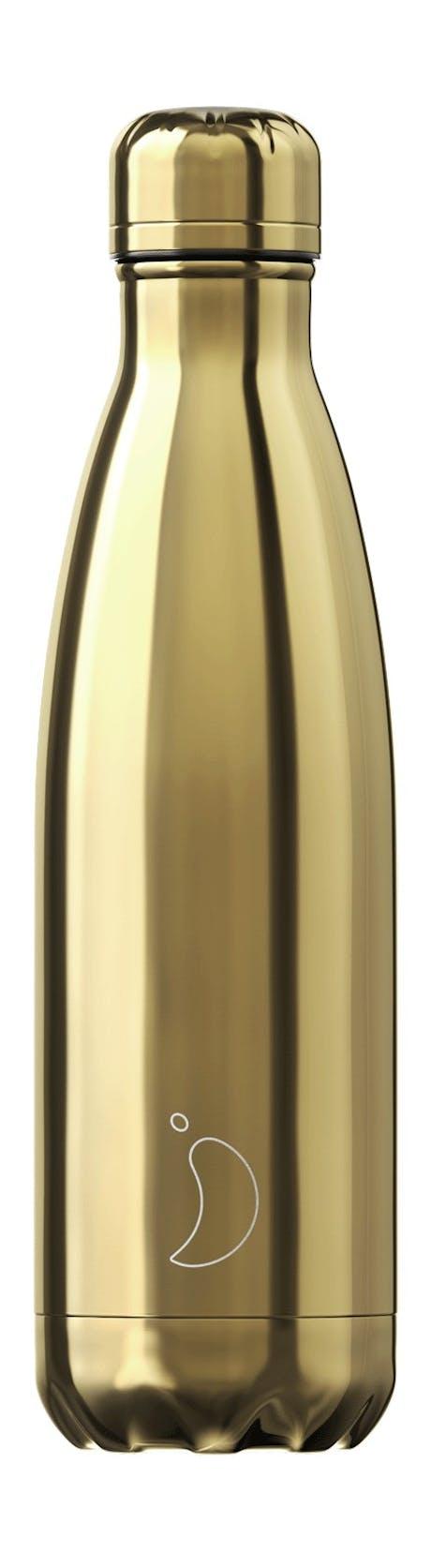 Bottiglia termica CHILLY'S chrome gold 500ml