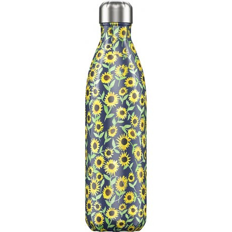 Bottiglia termica CHILLY'S floral sunflower new 500ml