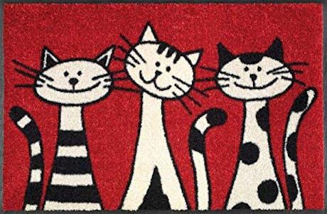 TAPPETO THREE CATS 50X75