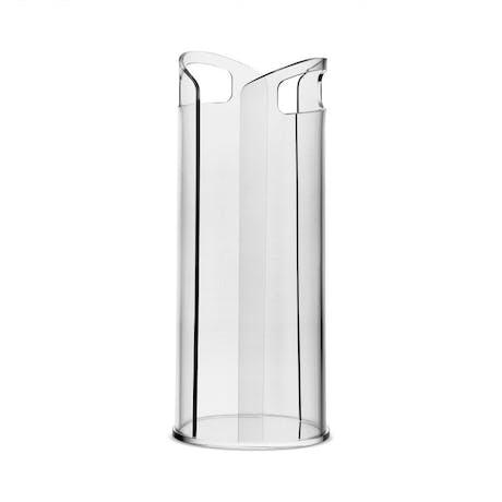 Portabicchieri in plexiglass trasparente