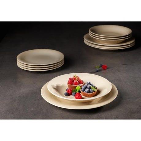 Servizio di piatti 12 pezzi Villeroy & Boch Color Loop sand