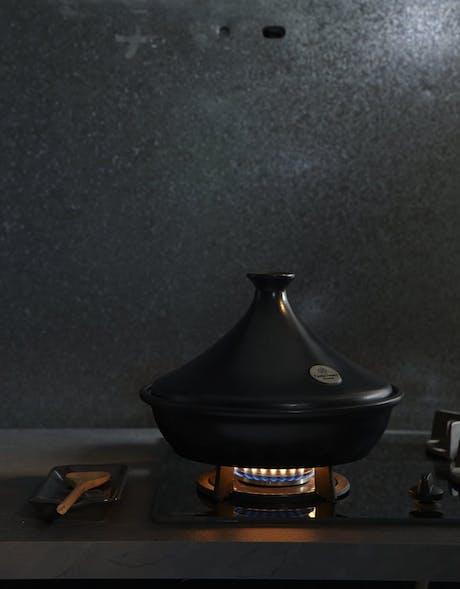 Tajine in ceramica grigia 32 cm