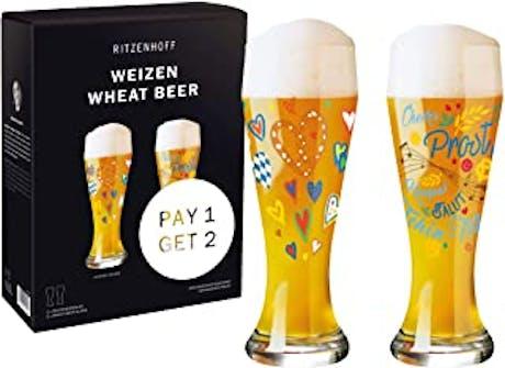 Set 2 bicchieri da birra Ritzenhoff Weizen Music
