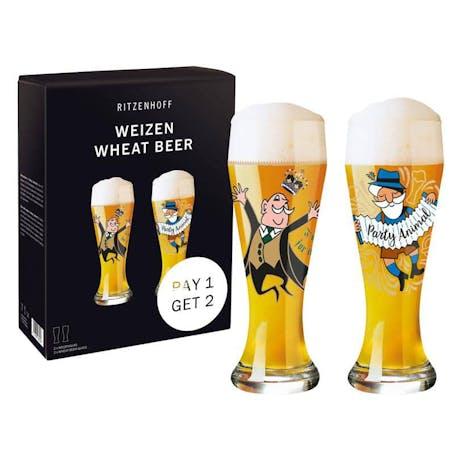 Set 2 bicchieri da birra Ritzenhoff Weizen Baviera